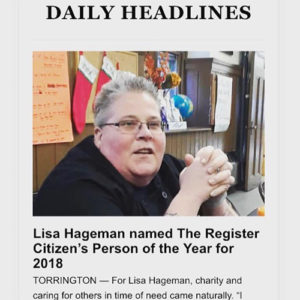 Lisa Hageman Person of the Year